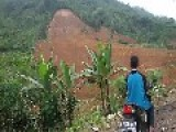 10 Days After Landslide At Banjarnegara Indonesia