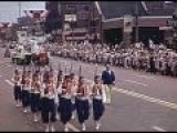 1941 Flint Michigan Parade Pre-Plague
