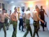 Members Of Azov Battalion Dancing And Singing White Power