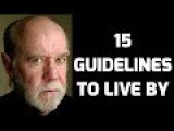 15 Rules To Live By
