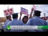 'Get Out Marines' Thousands Protest US Military Base In Japan's Okinawa
