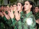 Serbian Army Girls