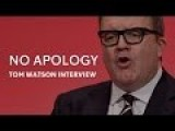 Tom Watson Talks To Jon Snow About Historic Child Abuse Allegations