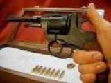 1895 Russian Nagant Revolver In Display Shadowbox