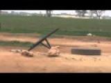 FSA Terrorists Try To Operate A Mortar - Fail