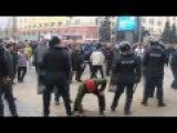 2014.03.01 Ukraine, Kharkov Violent Clashes Protesters