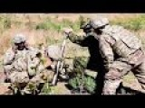 U.S. Army And Estonian Soldiers Mortar Training