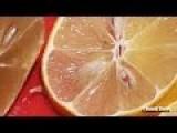 Cutting Chinese Lemon With SHARP Knife ULTRA HD 4K !!!