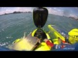 2010 Gold Cup: Unlimited Hydroplane U-37 Crashes Into Seawall