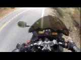 2013 Kawasaki Ninja 300 Motorcycle Crash Lowside, Live Oak, Trabuco Canyon, CA