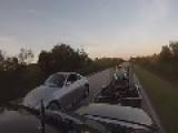 2006 E55 Pulling Trailer Vs 350z