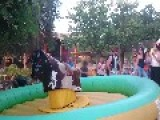 Guy Craps Pants On Mechanical Bull