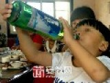 2yrs Old Chinese Kid Addicted To Alcohol