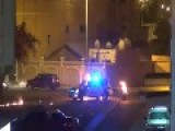 Bahraini Shiite Fire-starters Set Light To A Policeman With A Petrol Bomb: Tubli