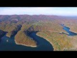 2 Mile Flight Through The Appalachian Mountains 3.2 Km