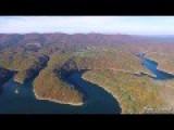 2 Mile Flight Through The Appalachian Mountains 3.2 Km