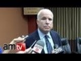 US Living In A Fantasy: John McCain Caught On Tape Guarantees Russia Will Not Act In Syria