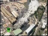 200-meter-high Chimney Stack Demolished In Australia
