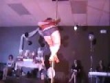 252 Pound Fat Girl On A Stripper Pole