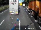 Driver In Belgium Survives The Most Deadly Of Crashes