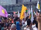 Thousands March In Berlin To Protest ISIS Abuse Of Kurdish-Yezidi Minority In Iraq