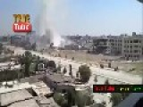 Clashes Between The Syrian Arab Army And Militants In Jobar