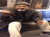 'Police Officer' Smokes On The Train