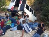 24 Palestinian Passengers Injured In Road Accident While Escaping Police