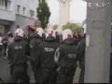 German Hooligans Protest Against Salafists In Cologne