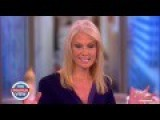 'It's Bull!': The View Hosts Give Trump Manager Kellyanne Conway An Epic Grilling Over Tax Returns
