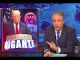 'F*ck Me!': Stewart Baffled That Trump's 'Farce Of A Candidacy' Is Succeeding