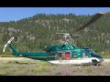 Bell 212 Helicopter Close-Up Engine Startup And Takeoff