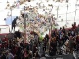 2014 Calgary Hitmen Teddy Bear Toss - 25,214 Bears Thrown On Ice