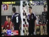 2 Pro Japanese Footballer's Versus 55 Kids