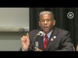 Black Caucus Member Confronts Allen West On Sarah Palin & Tea Party Ties