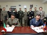 Armenia, Italy Sign Plan For Military Cooperation