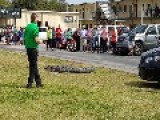Trapper Called To School To Capture Alligator On The Loose