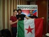 Italian Volunteers Join The Fight