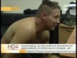 Eng Subs UA Soldier Cries Watching Videos Of Results Of UA Artillery Strikes At Towns
