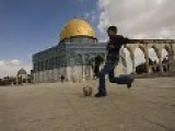 Arabs Playing Soccer On Holiest Temple Mount - Jew Arrested