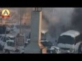 Shia Terrorist Use Home Made Bomb Against Police Officers In Bahrain Site: Youtube