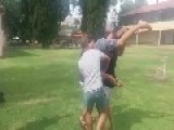 Two Man Walkover Ends Poorly