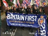 BRITAIN FIRST HOLDS PROTEST MARCH THROUGH ROMA DOMINATED TOWN OF HEXTHORPE