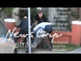 Billionaire Gaming Mogul James Packer And Channel Nine Australia Boss David Gyngell Fight Footage - Bondi Beach