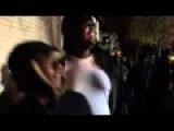 BLM Black Lives Matter Protester Throwing Rocks At Police Minnepolis Video