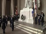 2014 Lincoln Memorial Armed Forces Full Honors Wreath Ceremony