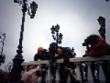 200 Russian Protesters Beaten And Arrested In Moscow During Ukraine Anti War Protest In