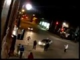 Rowdy Get Hit By Taxi Filmed By Handycam
