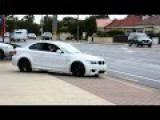 2011 BMW 1M Pulling Out