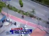 Police Chase In São Paulo, Perfect Interception